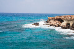 Havsgrottorna arkivbilder