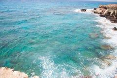 Havsgrottorna Arkivfoton