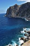 Havsikt i Mallorca Arkivbild