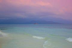 Havsikt i Thailand clouds hav över Royaltyfri Foto