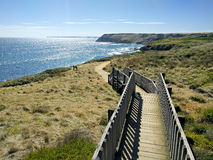 Havsikt på Phillip Island, Australien Royaltyfri Fotografi