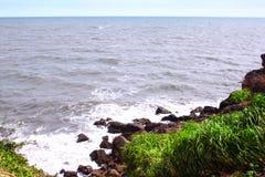 Havsklippa Arkivbilder