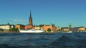 Havskryssning i Stockholm, Sverige lager videofilmer