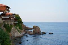 Havskust av Bulgarien arkivbilder