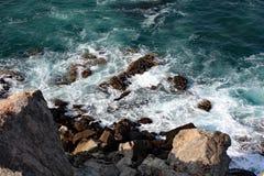 Havskusten #4: Mutrah Muskat, Oman Royaltyfria Foton