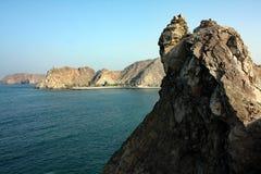 Havskusten #5: Mutrah Muskat, Oman Royaltyfri Fotografi