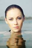 havskvinna Royaltyfria Bilder