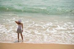 havskvinna Arkivfoton