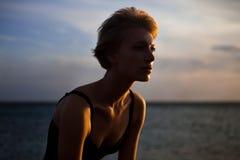 havskvinna Royaltyfri Fotografi