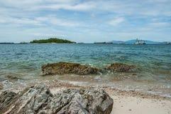 Havslandskap Arkivfoton