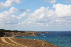 Havslandskap Royaltyfri Fotografi