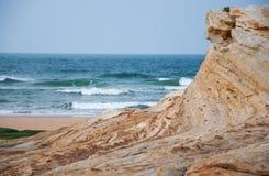 Havslandskap i norden av Spanien fotografering för bildbyråer