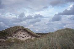 Havslandskap på den tyska ön Royaltyfri Foto
