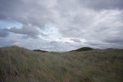 Havslandskap på den tyska ön Arkivbilder