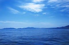 Havsliggande Fotografering för Bildbyråer