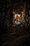 Havsliten vik Royaltyfri Fotografi
