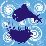 Havsmonster Fotografering för Bildbyråer