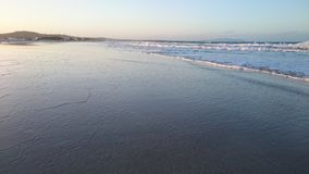 Havsnivå av Hammem El Aghzez Royaltyfri Fotografi