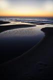 havsoluppgång royaltyfri fotografi