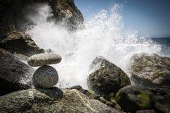 Havsprej Fotografering för Bildbyråer