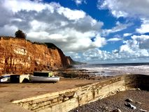 Havssida i England Arkivbild