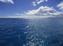 havssikt royaltyfri bild