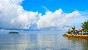 havssikt Arkivfoton