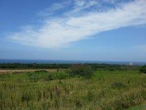Havssikt från ett avstånd Arkivfoto