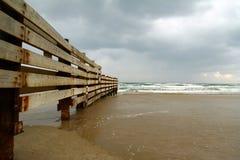 havssky för 2 staket Arkivbilder