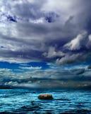 havsskysten Royaltyfri Foto