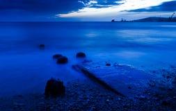 havssoluppgång Arkivbilder