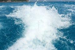 havsspray Royaltyfri Fotografi