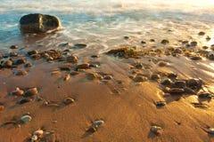 havsstenar Arkivfoton