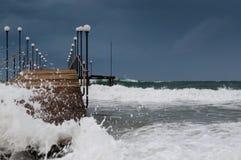 havsstorm Royaltyfria Foton