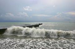 havsstorm Arkivbilder