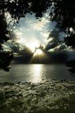 havsstorm Arkivfoto
