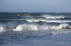 havsstorm Royaltyfri Foto