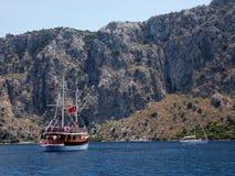 Havstur, Turkiet arkivfoto