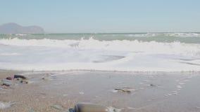 Havsvåg i ultrarapid stock video