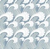 havsvåg Japan Royaltyfria Bilder