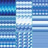 Havsvågmodell, sommarmodell Arkivfoto