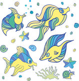 Havsvarelser Royaltyfri Fotografi