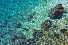 havsvatten Fotografering för Bildbyråer