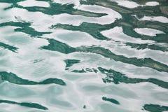 Havsvatten för blå green royaltyfria bilder