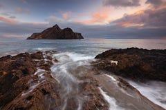 havsvattenfall Fotografering för Bildbyråer