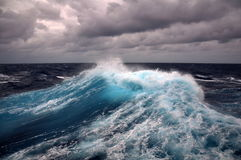 havswave Royaltyfria Foton
