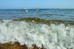 havswave Arkivbilder