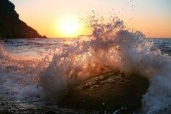 havswaves Royaltyfri Foto