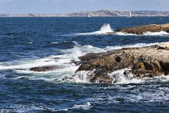 havswaves Arkivbild