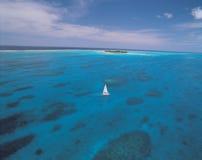 havsyacht Arkivbild